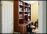Office Desk & Bookcase